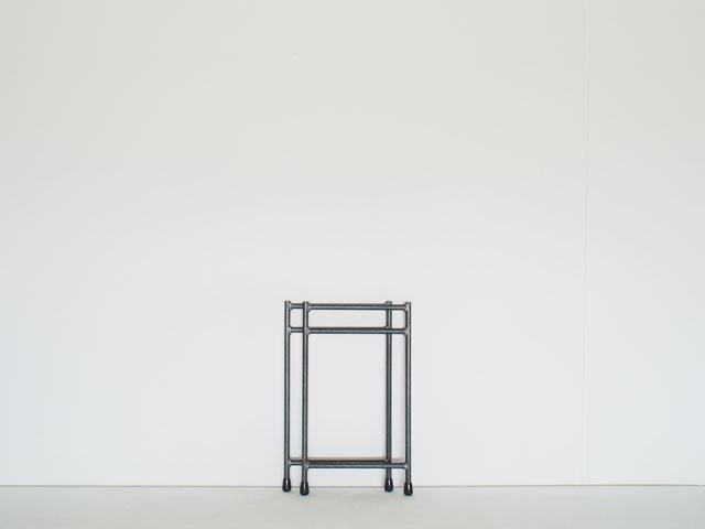 組み立てラック用鉄脚|LOWシングル