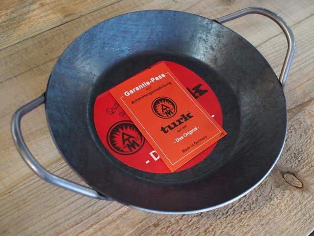 ターククラシック グリルパン|Turk|鉄のフライパン
