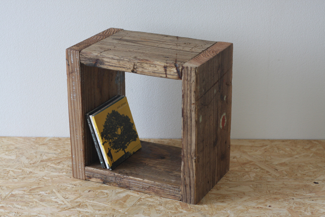 足場板のキューブボックス|Sサイズ