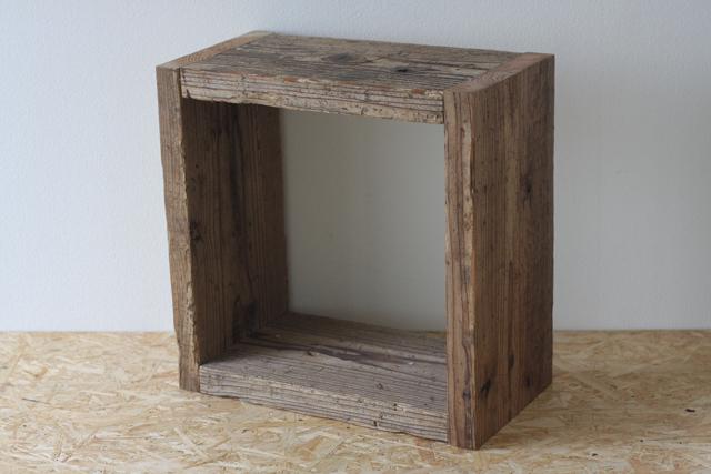 足場板のキューブボックス|Lサイズ
