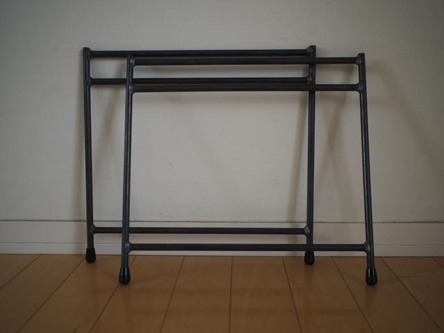 組み立てテーブル用鉄脚|LOWダブル