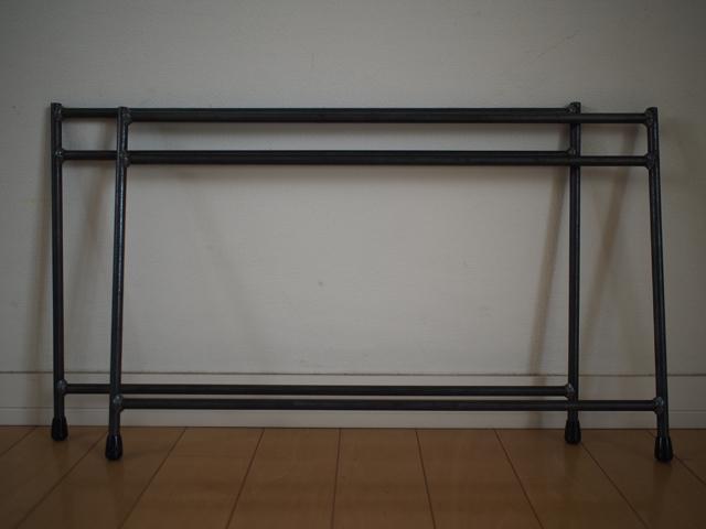 組み立てテーブル用鉄脚|LOWトリプル