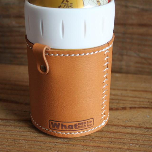 国産レザー|サーモス保冷缶ホルダーレザーカバー|350mlサイズ