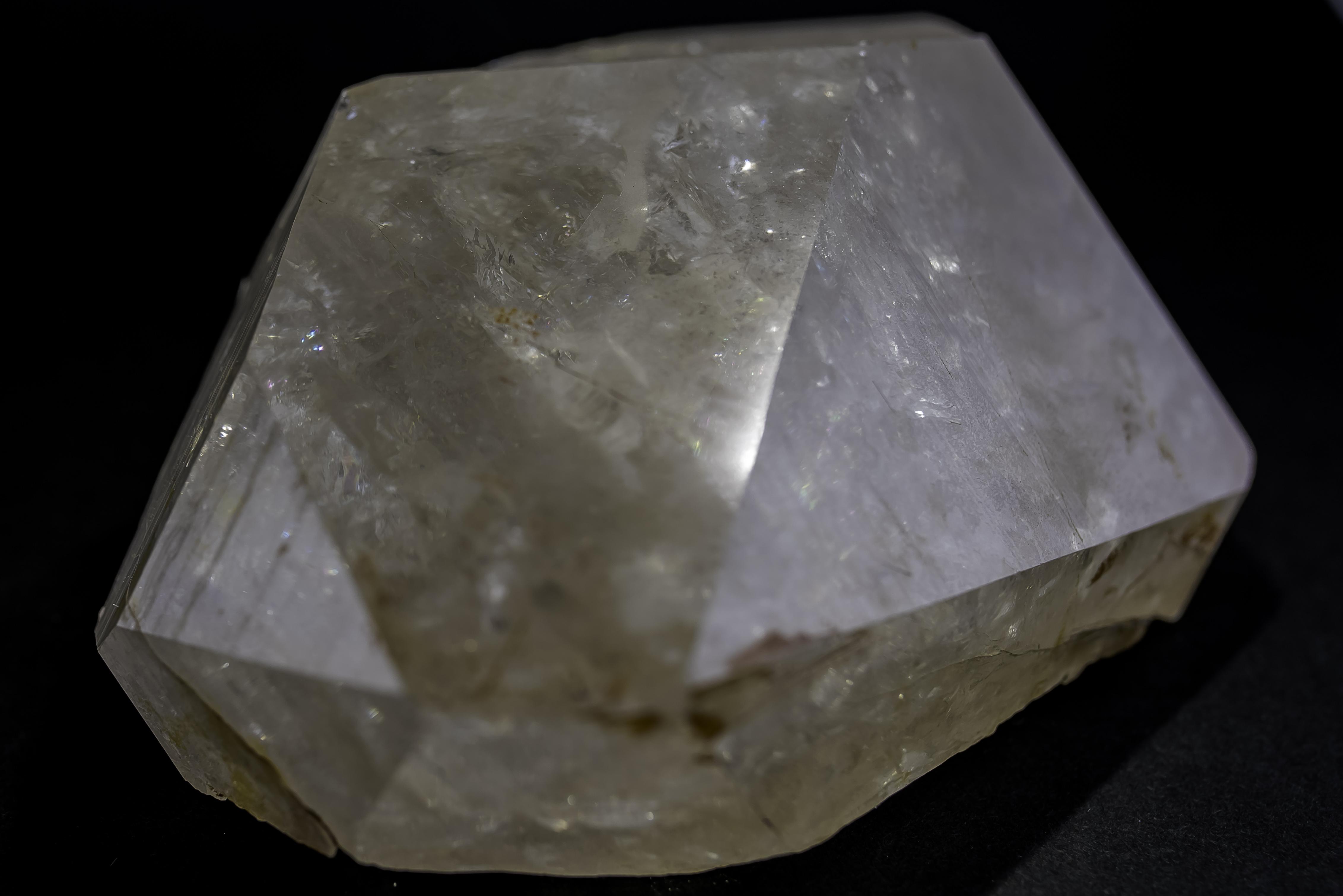ヒマラヤ水晶 ベラダール産ポイント(インド) レインボー 格安