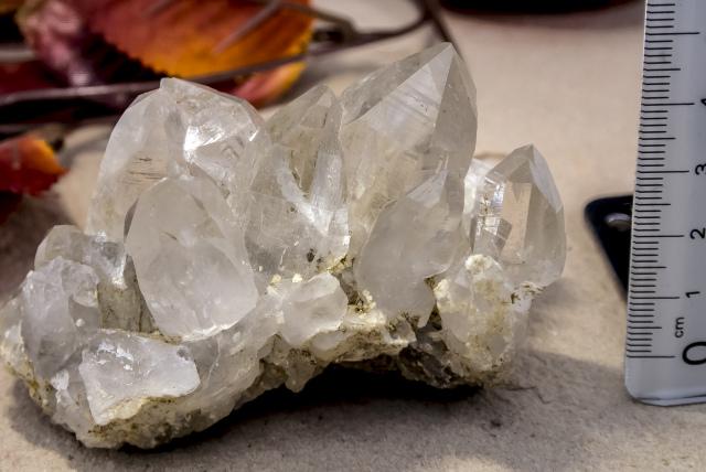 ヒマラヤ水晶 ダーディン産水晶クラスター hdc-1