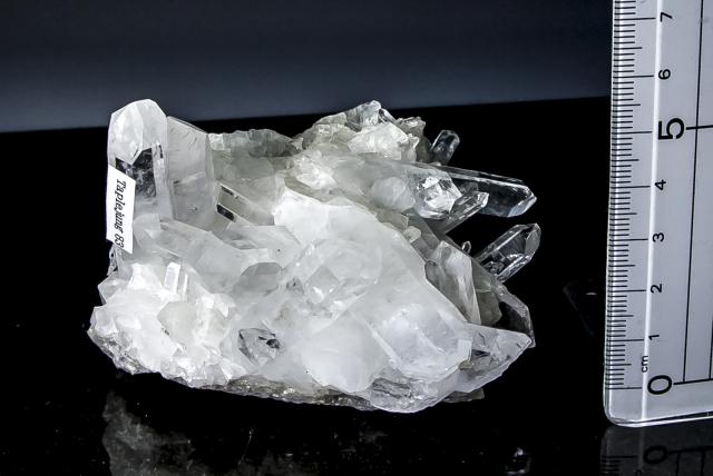 ヒマラヤ水晶 タプリジュン産水晶クラスター htjc-19