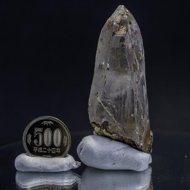 ヒマラヤ水晶 ティップリン産水晶ポイント ガネーシュヒマール コッパークオーツhtp-14