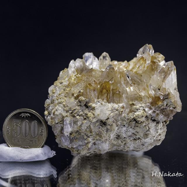 ヒマラヤ水晶 タプリジュン産水晶クラスター カンチェンジュンガ htjc-1