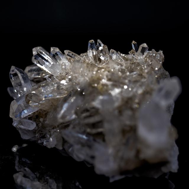 ヒマラヤ水晶 タプリジュン産水晶クラスター クリア カンチェンジュンガ