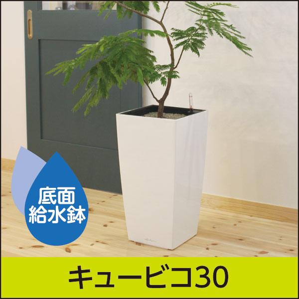 ☆送料無料☆底面給水プランター【レチューザプレミアム】キュービコ30・LECHUZA