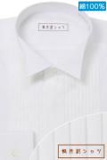 ワイシャツ[軽井沢シャツ] フォーマル ウィングカラー 天然素材 ゆったり型 P11KZZW51