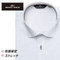 ワイシャツ[BODYWILD] ワイドスプレッド ノーヨーク仕様 ストレッチ ドビーダイヤ柄 形態安定 スリム型 P12BWW237