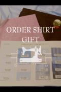 オーダーシャツギフト 形態安定加工 綿ポリエステル混紡 P90PLG002
