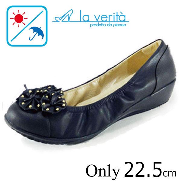 ラベリータ (シチリア・ Sicilia)no.2181/ブラック/フラワー/3.5cmヒール/Laverita