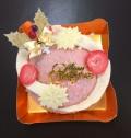 【xmasアイスケーキ】メープルフレーズ ※12/21(金)〜25(火)の希望納品日を備考欄へご入力下さい