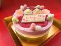 ひなまつりアイスケーキ【2/28頃より発送可】 ※備考欄へご希望配達日を入力下さい