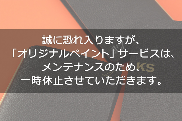 【期間限定!半額キャンペーン】オリジナルペイントオーダー ※シュリンクシリーズのみ対応