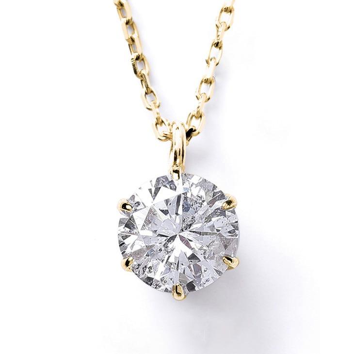 ダイヤモンド ネックレス レディース 一粒 18金 K18 ダイヤ ダイヤネックレス 天然ダイヤ 0.2ct カラット 一粒ダイヤ ペンダント チェーン シンプル 鑑定書 誕生日 プレゼント 女性 ギフト ジュエリー アクセサリー 華奢 記念日 4月 誕生石