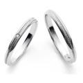 結婚指輪 マリッジリング 指輪 プラチナ ペアリング ブライダル マリッジ 2本セット Pt999 Pt Dear BM-07/08