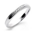 結婚指輪 マリッジリング プラチナ リング 指輪 レディース 女性用 ペアリング Pt999 Pt Dear BM-04