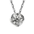 ダイヤモンド ネックレス レディース 一粒 プラチナ ダイヤネックレス PT900 マグノリア