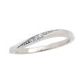結婚指輪プラチナレディースマリッジリング刻印女性用ダイヤモンドPT900