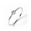 指輪 レディース リング ダイヤモンド ダイヤ プラチナ 0.08カラット ダイヤモンドリング Pt900 鑑定書 シンプル 誕生日 プレゼント 女性 ギフト ジュエリー アクセサリー プロポーズリング 4月 誕生石 一粒ダイヤ ダイヤリング プラチナリング