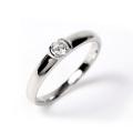 指輪 レディース リング ダイヤモンド ダイヤ プラチナ 0.1カラット ダイヤモンドリング 0.1ct Pt900 鑑定書 シンプル 誕生日 プレゼント 女性 ギフト ジュエリー アクセサリー プロポーズリング 4月 誕生石 一粒ダイヤ ダイヤリング プラチナリング