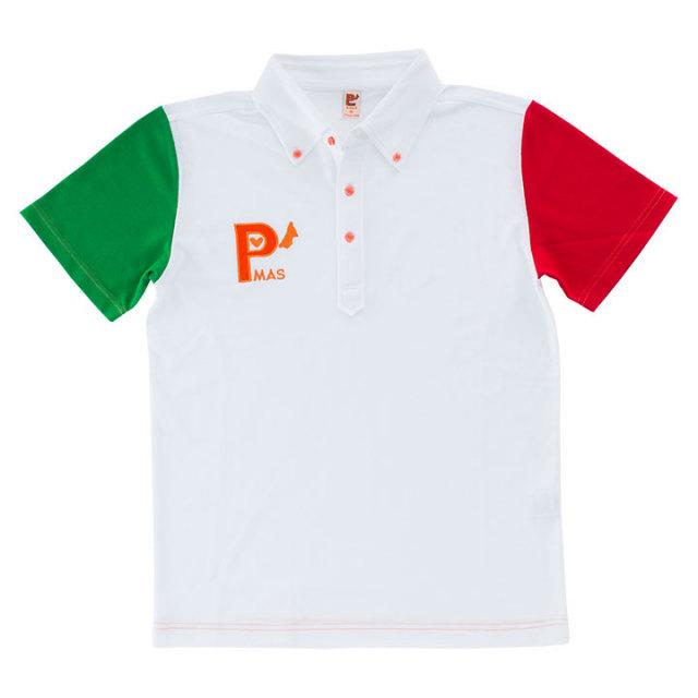 トリコロールポロシャツ