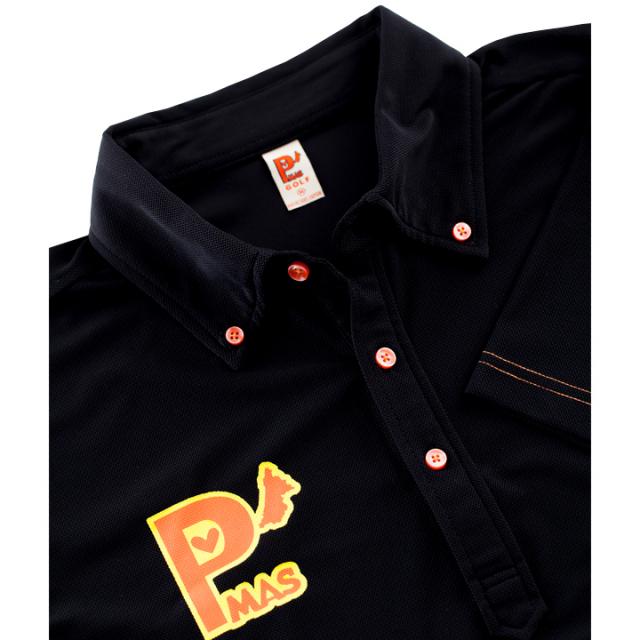 ソフトポロシャツ(ブラック)