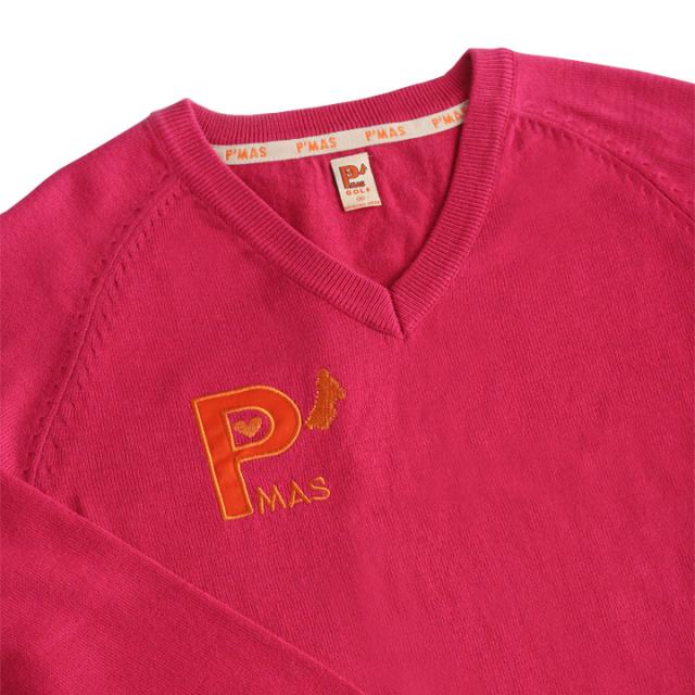 ニットセーター(ピンク)