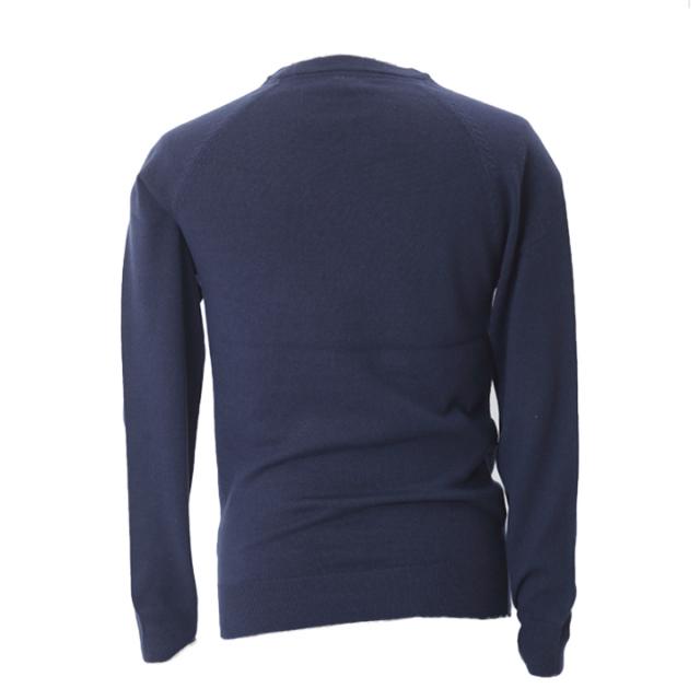 ラウンドネットセーター(ネイビー)