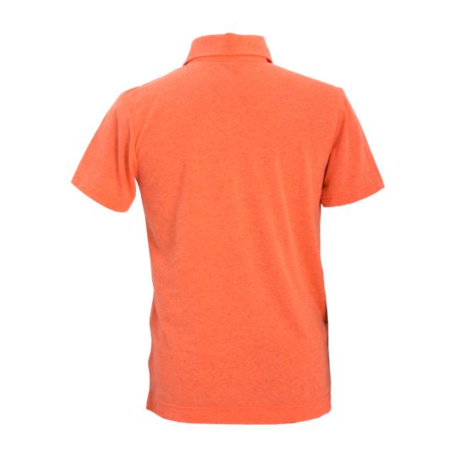 ネップポロシャツ(オレンジ)