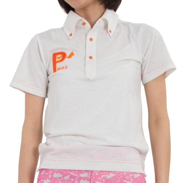 ネップポロシャツ(ホワイト)