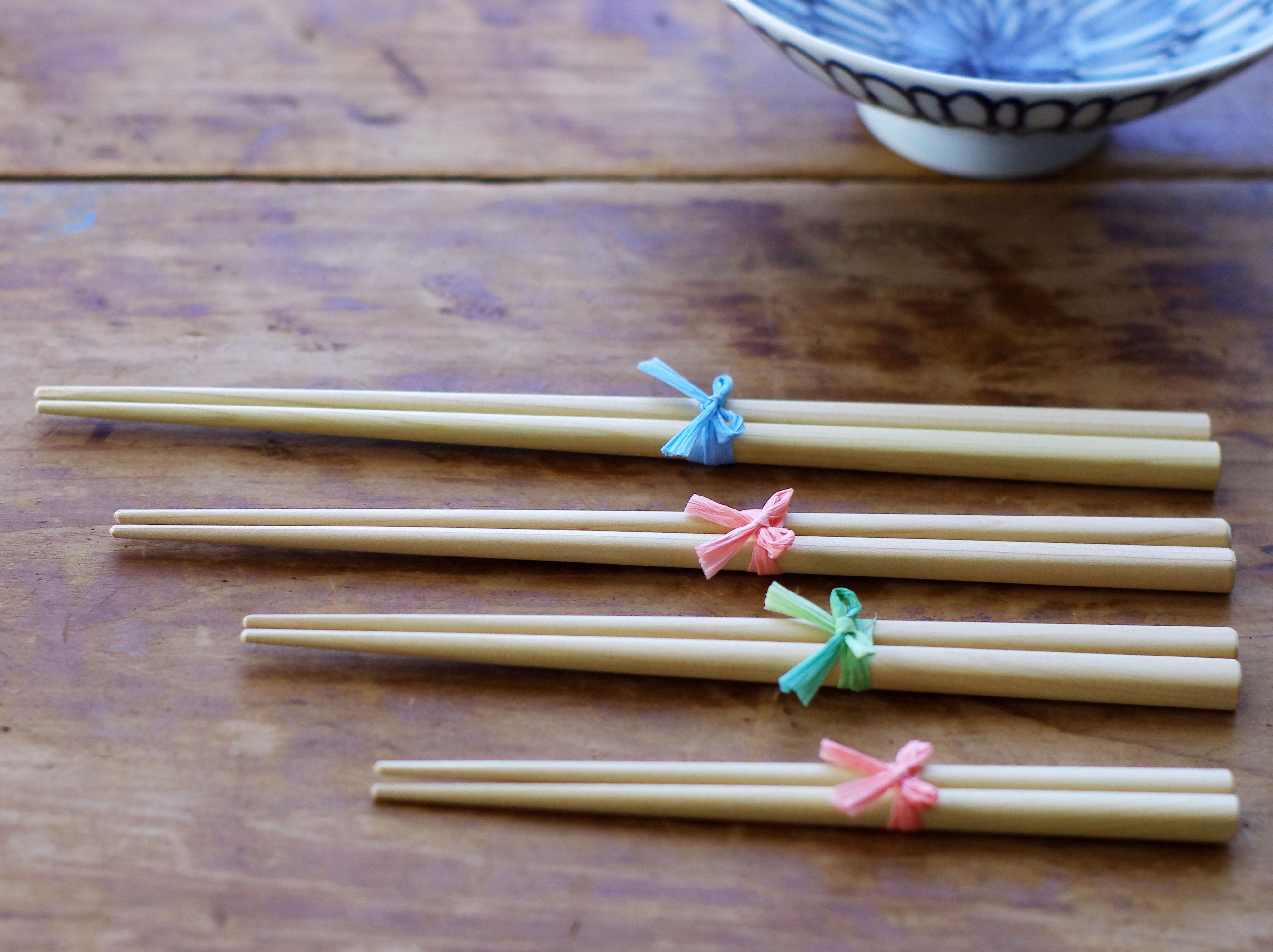 青森ひばの木のお箸
