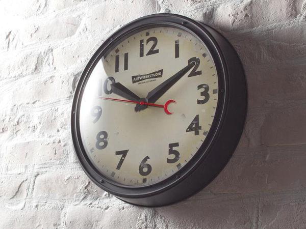 ENGINEERED(エンジニアード)ウォールクロック(掛け時計)