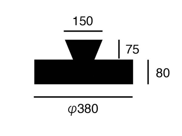 GLOW(グロー)4000LED シーリングランプ (リモコン付き)