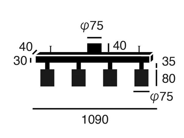 GRID4(グリッド4)ダウンシーリングライト