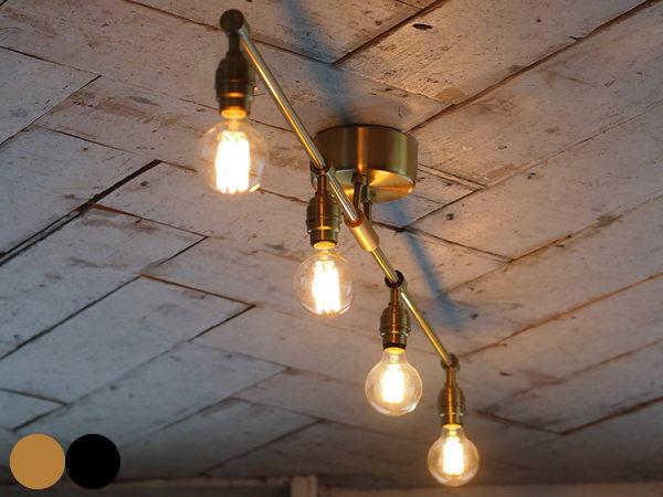 LAITTON(レイトン)4灯シーリングランプ