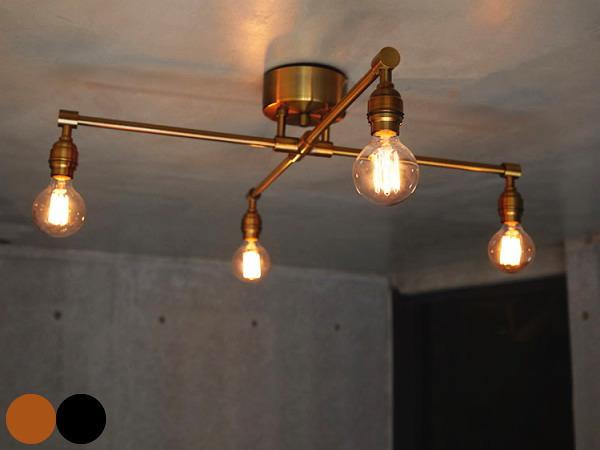 LAITTON-X(レイトンエックス)4灯シーリングランプ