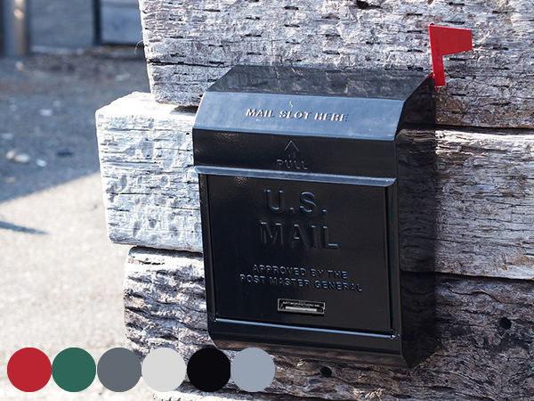 ダイヤルロック式 USメールボックス2(郵便受け)