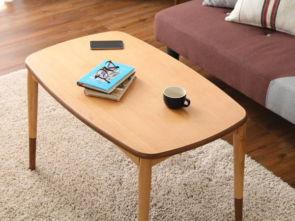 2WAY(2ウェイ)こたつテーブル(継ぎ脚タイプ)