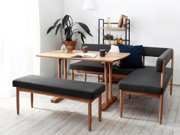 ECOMO(エコモ)ソファダイニングテーブル5点セット