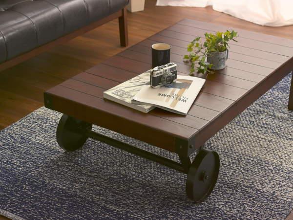 WAGON(ワゴン)キャスターテーブル Sサイズ