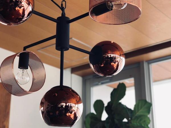 BOURGONE(ブルゴーニュ)5灯 ペンダントランプ