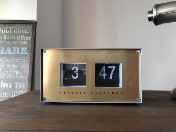 PIVOT(ピボット)デスククロック パタパタ時計