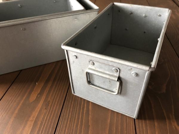 RECTANGLE(レクタングル)ブリキボックス小物入れ(S/M /Lセット)