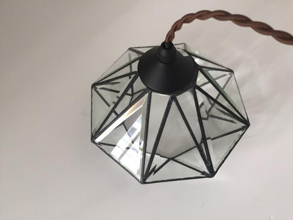 ROANNE(ロアンヌ)1灯ガラスペンダントランプ