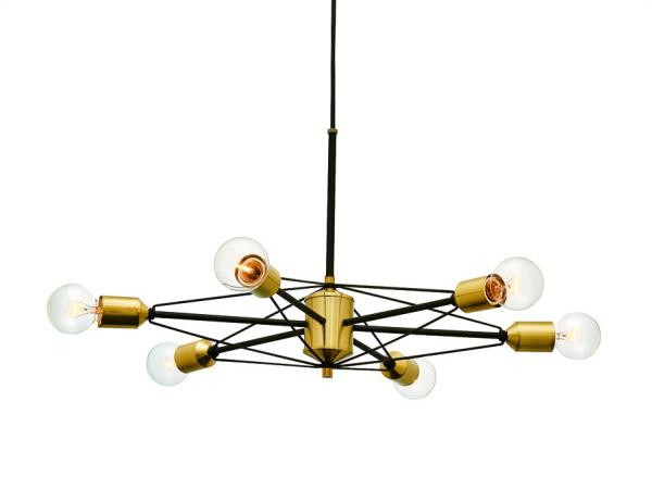 VENTNOR(ヴェントナー)6灯スチールペンダントライト