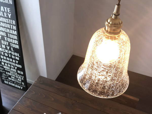 ROMIO(ロミオ)1灯ガラスペンダントライト